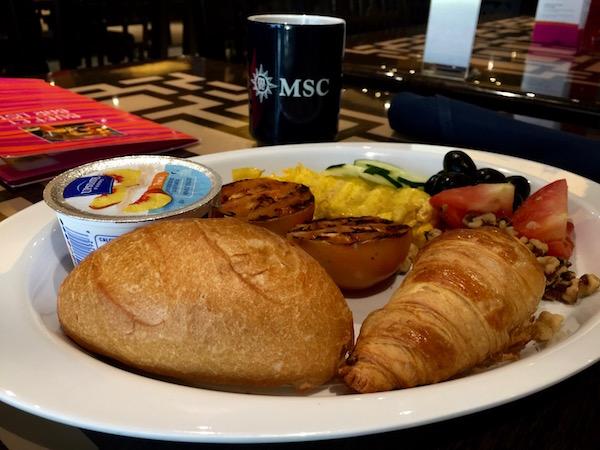 Desayuno MSC