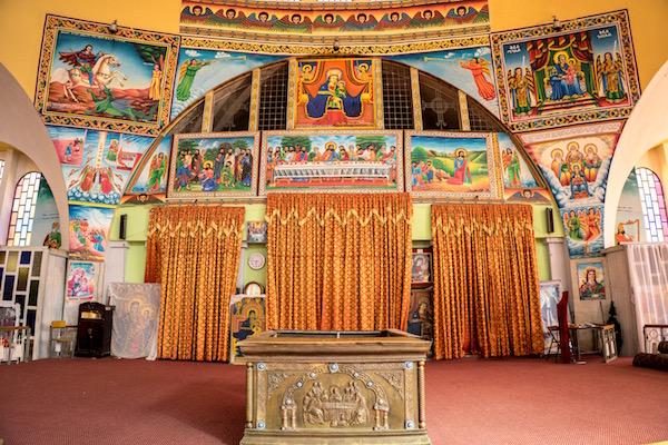Detalles iglesia nuevade Santa María de Sion