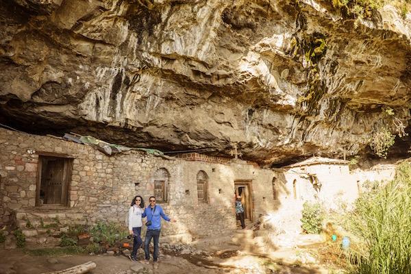 Fachada el monasterio de Na'akuto La'ab