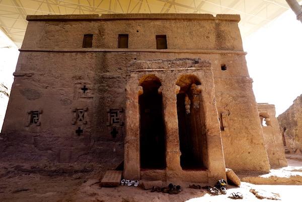 Fachada iglesia Bet Maryam