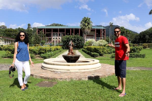 Fuente Jardín Botánico Tropical