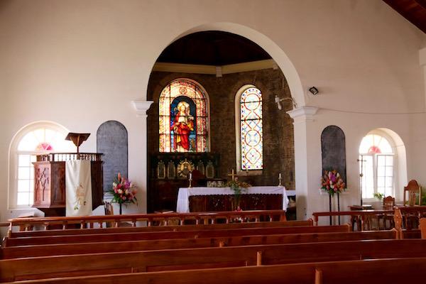 Interior Iglesia de San George