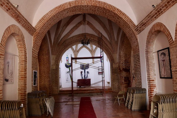 Interior de la Capilla de los Remedios
