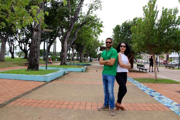 Kioscos Parque La Savane
