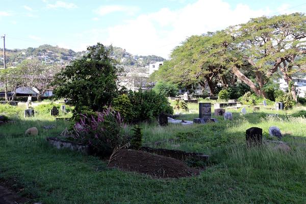 Tumbas Jardín de Catedral San Jorge