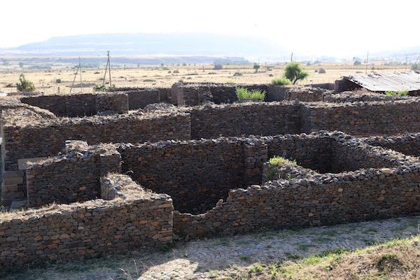 Vistas palacio de Dungur
