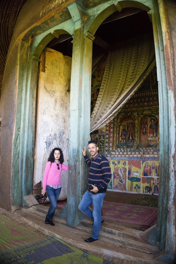 monasterio de Ura Kidane Meret