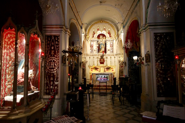 Capilla de la iglesia Carmelitas