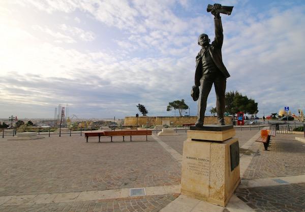 Escultura de Manwel Dimech