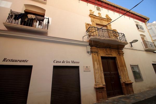 Fachada Casa José Musso Valiente