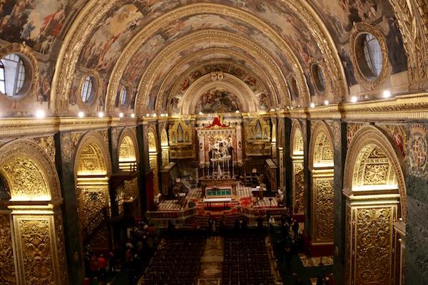 Interior Catedral San Juan