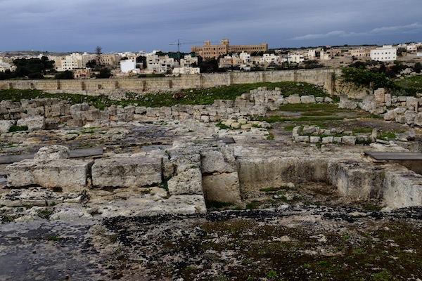 Restos vivienda romana