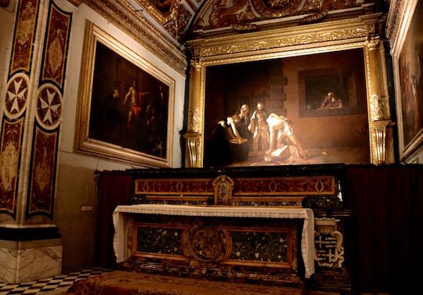 cuadro de La Decapitación de San Juan Bautista