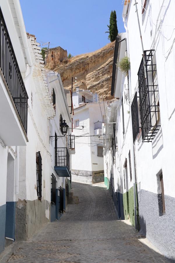 Calles en Montefrío.