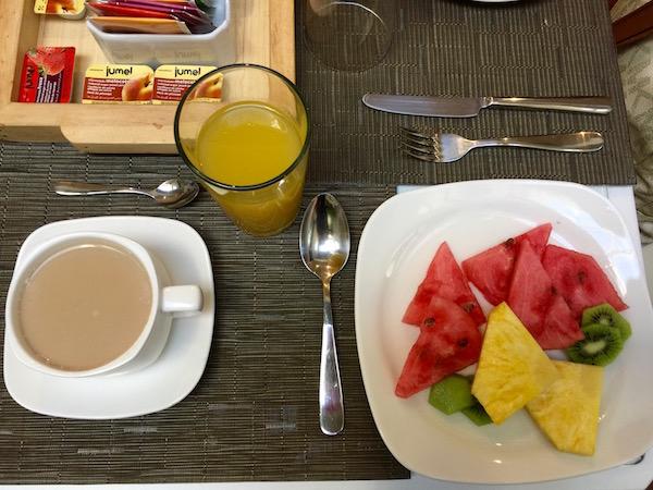 Desayuno, Marquíz hotel Boutique.