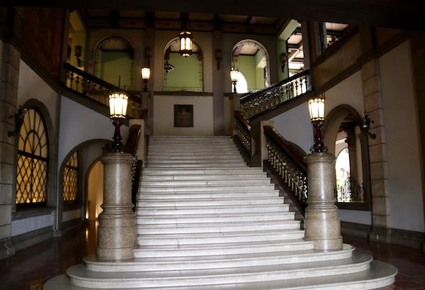 Escalera Palacio Nacional