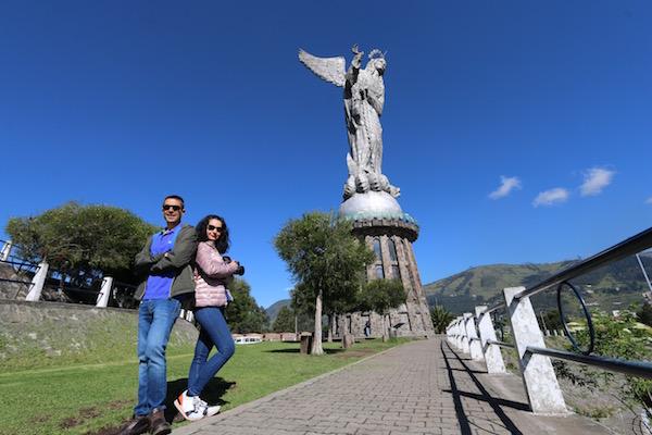 Estatua de la Virgen de Quito, Cerro Panecillo.