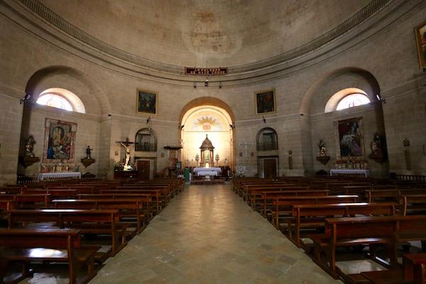 Interior iglesia de la Encarnación.