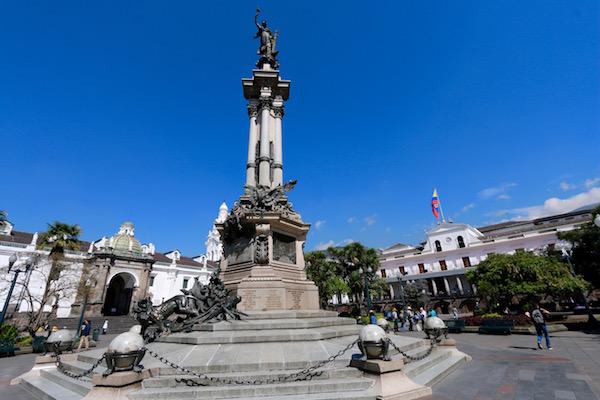 Plaza de la Independencia.