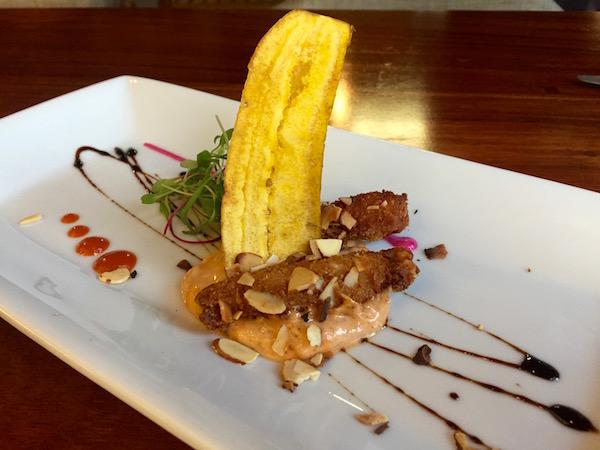 Restaurante Gracia Cocina de Autor, Croquetas de pollo