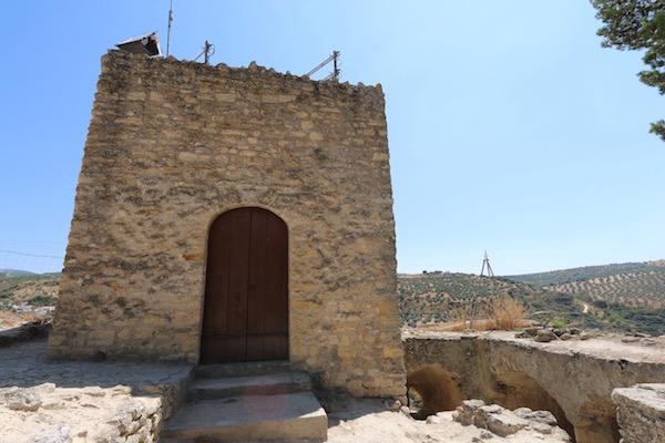 Torre fortaleza árabe.