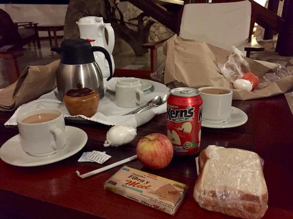 Picnic, Hotel Villa Maya.