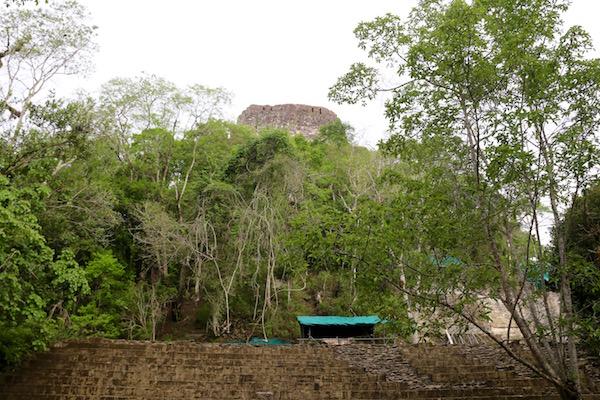 templo IVtambién llamado de la Serpiente Bicéfala.